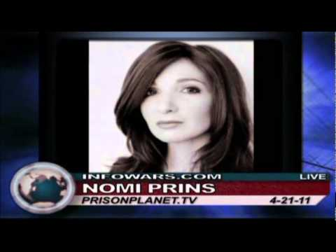 Nomi Prins, Former Goldman Sachs Managing Director: Bankster Collusion  and Bailouts