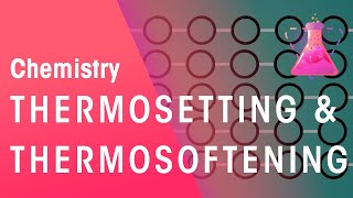 What Is Thermosetting and Thermosoftening Polymers | Chemistry for All | FuseSchool