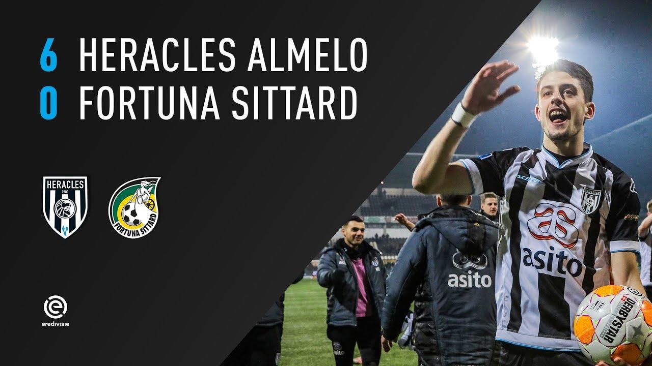 Heracles Almelo - Fortuna Sittard | 16-02-2019 | Samenvatting