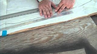 sevylor fish hunter hf 280 hf 360 wood plywood floor installation inflatable boat part 2
