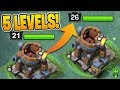 UPGRADING THE BATTLE MACHINE 5 TIMES IN 1 EPISODE! - Clash of Clans