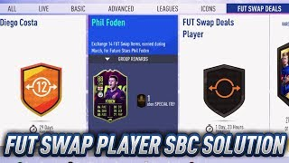 Cheapest Fut Swap Deals Player Sbc Solution 1 March Fut Swaps Watch Rare Mega Pack Opening Youtube