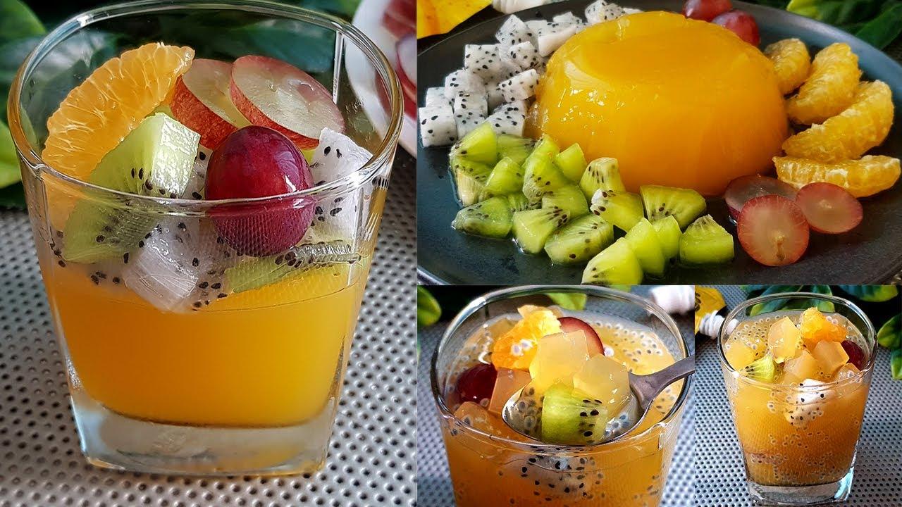 พุดดิ้งส้ม วุ้นส้ม วัตถุดิบหลัก3อย่าง ต้นทุนต่ำ ทำกินทำขายได้เลยจ้า l แม่มิ้ว lOrange Pudding