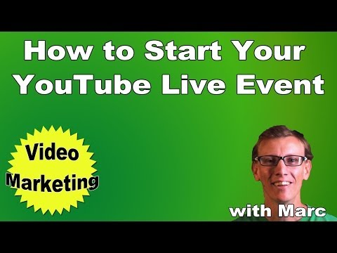 How To Start YouTube Live Event - Flash Media Live Encoder Settings, Profiles, and More