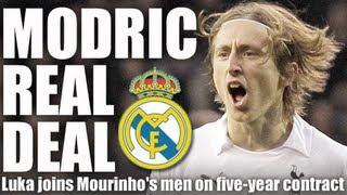 Luka Modric Transfer Real Madrid!