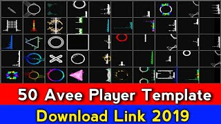 50 Awesome Avee Player Template Download Link | Template Download link 2019 | Avee player template