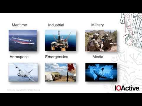 IOActive: Identifying the Risks of Satellite Communications (webinar)