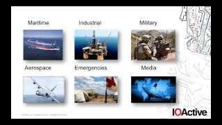 IOActive: Identifying the Risks of Satellite Communications (webinar)