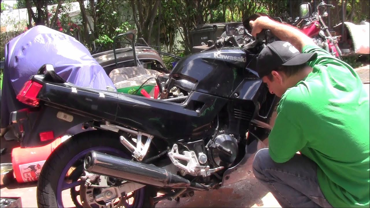 Ninja 250r Dead On Throttle Pt 1 Youtube