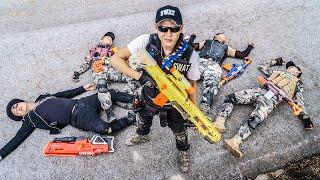 LTT Game Nerf War : Warriors SEAL X Nerf Guns Fight Inhuman Group SWAT Strong Health