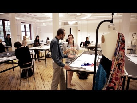 Pratt's Renovated Fashion Design Space