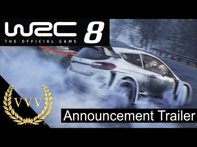 WRC 8 Announcement trailer