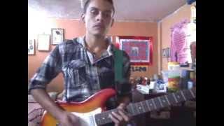 Ciudad de colores guitar cover