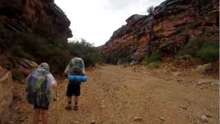 FLASH FLOOD # 2 Hiking out of Havasupai