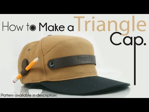 OFFICIAL | How To Make Triangle Snapback Hat NEW!