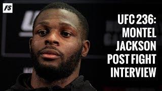 UFC 236: Montel Jackson post-fight interview