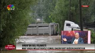 10/08/2018 ÖZEL GÜNDEM - YAŞAR YILDIRIM / MHP GNL.BŞK.YRD. - CEMAL ENGİNYURT / MHP ORDU MV.