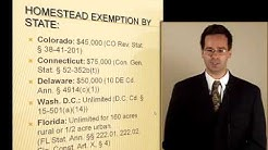 Homestead Exemption by State: Exemption Planning: Bankruptcy Exemptions Pre-Bankruptcy Planning