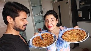 The Mouth Watering PANEER PARANTHA | Ss Recipe Vlog :-)