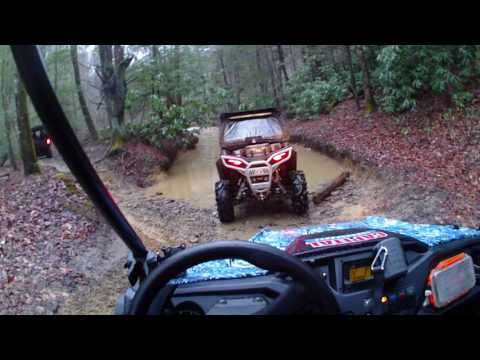 HONDA PIONEER 500 TACKLES THE OUTLAW TRAILS IN WV VID00794