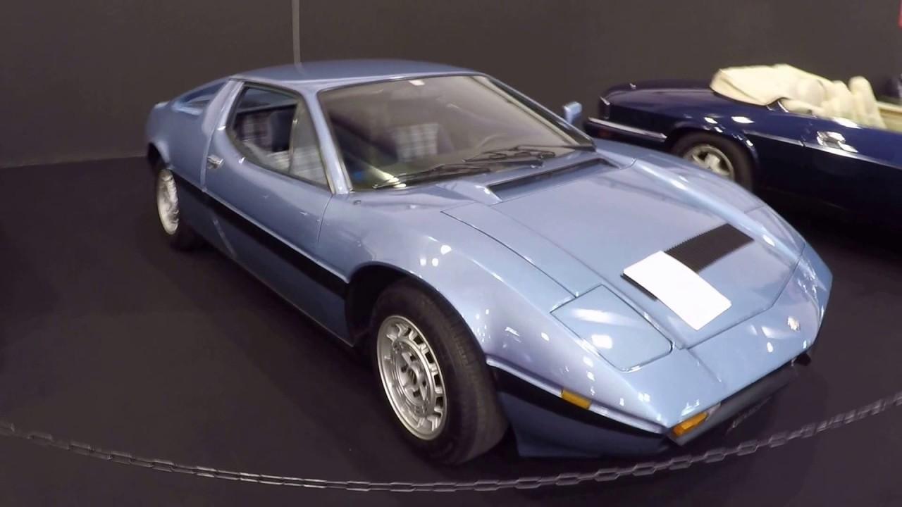 MASERATI MERAK 2000 GT ! BLUE COLOUR ! CLASSIC CAR 1978 ! 1 OF 200 WORLDWIDE ! - YouTube