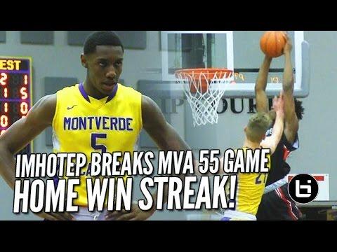 Imhotep BREAKS Montverde Academy 55 Home Game Winning Streak At MAIT Invitational!! Full Highlights!