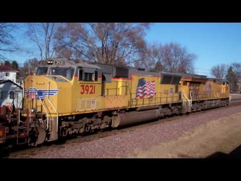 A day off of work at the Rochelle Railroad Park w/ CEFX AC44CW, NS SD70M-2s + more 02/13/17 (2/2)