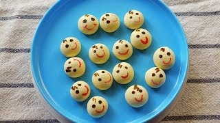 Draw your own Baby Face Cookies