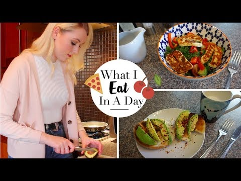 What I Eat In A Day (British Vegetarian) | Meg Says AD