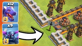 IMPOSSIBLE TROLL BASE!? - TANK TROLL CHALLENGE IN Clash Of Clans!!