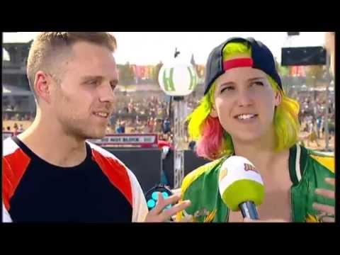Interview MS MR @ Pukkelpop 2013