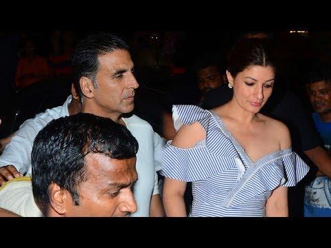 Akshay Kumar With Wife Twinkle Khanna At Karan Johar's Birthday Party