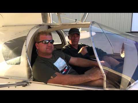 Flying a Viking aircraft engine on a SeaRey