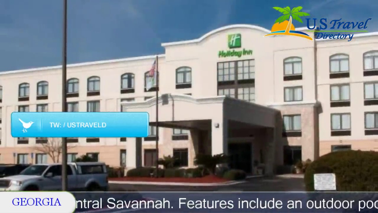 Holiday Inn Savannah South I 95 Gateway Hotels Georgia