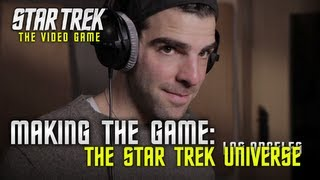 STAR TREK the Video Game - PS3 / X360 / PC - Making the game: The authentic Star Trek Universe