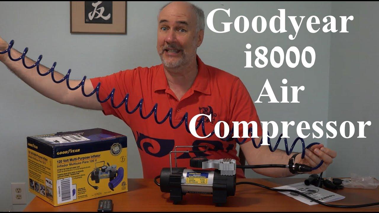 Inflator Air Compressor i8000 Bon-Aire Goodyear 120-Volt Direct Drive Tire