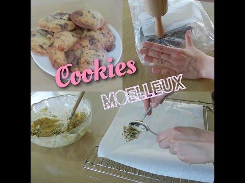 ✿-cookies-moelleux-au-chocolat---recette-rapide-et-facile