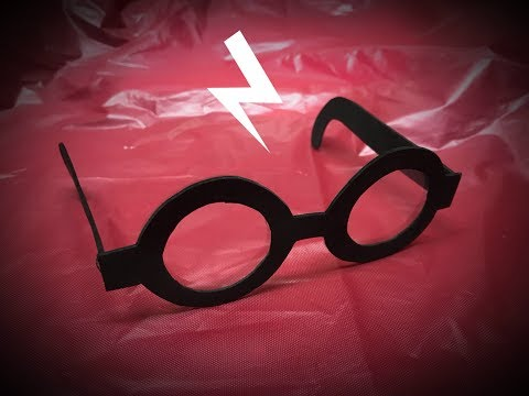 DIY #HarryPotter and Edna from The #Incredibles  Glasses craft