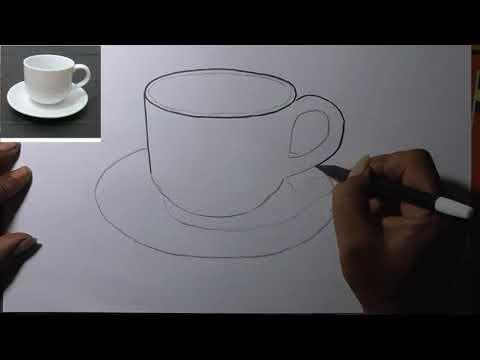 Contoh Menggambar Alam Benda Untuk Pembelajaran Seni Budaya Youtube