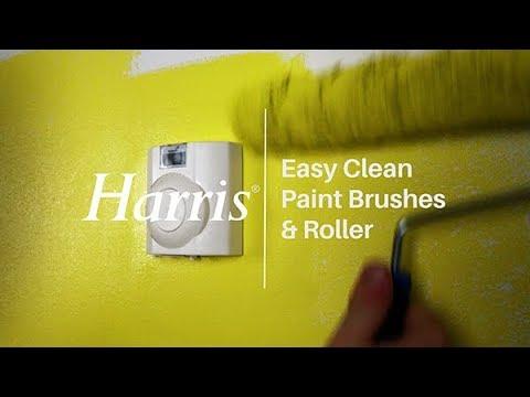 Easy Clean Paint Brush & Roller