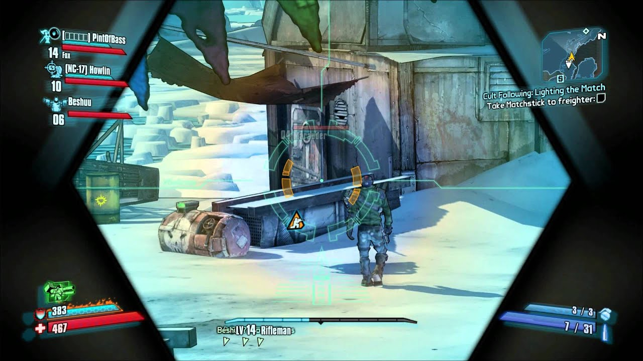 Borderlands 2 Cult Following The Enkindling Side Quest 4 Players with  Commentary