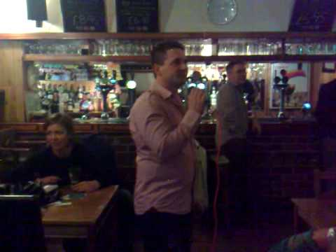 prince harry pub - karaoke paul america
