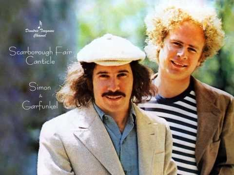 √♥ Paul Simon & Art Garfunkel √ Scarborough Fair  Canticle √ Lyrics