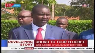 Developing: President Kenyatta expected to tour DP Ruto's backyard