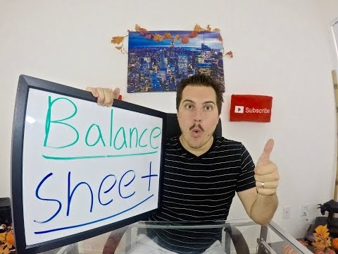 Balance Sheet Tutorial! - Reading a Balance Sheet!