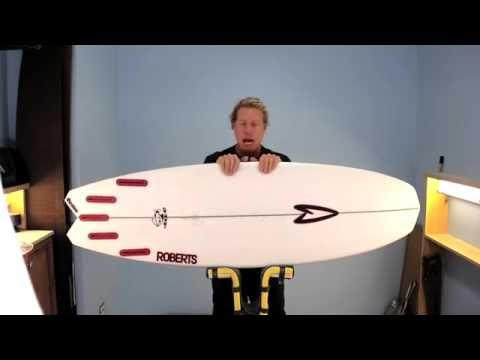 Wave Tribe Surfboard Review - Roberts 3DF