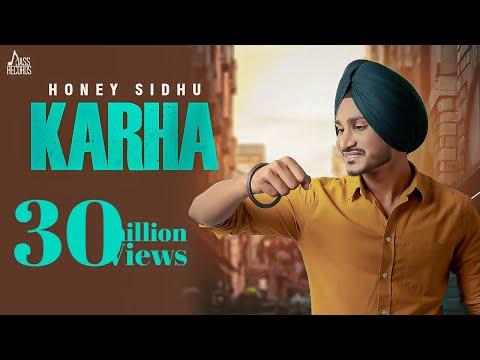 Karha | (Full HD) | Honey Sidhu | G Guri | New Punjabi Songs 2019 | Jass Records