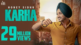 Karha | (Full HD) | Honey Sidhu | G Guri | New Punjabi Songs 2019 | Jass Records