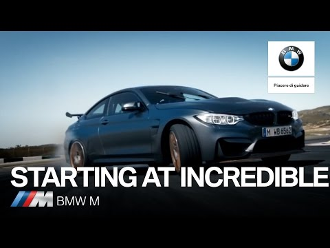 BMW M. Starting at Incredible.