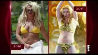 Celebrity slimdowns losing the weight (BRITNEY SPEARS, JENNIFER LOPEZ, JESSICA ALBA...)